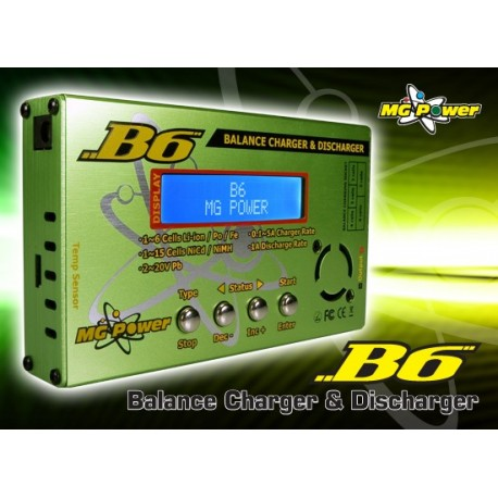 MG-B6 - B6 Balance Charger and Discharger