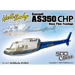 HB-EU004 - Écureuil AS350CHP - Fuselage Fibre de verre