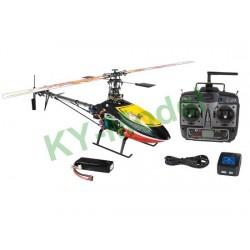 CX450BA2.4G - CopterX CX450 Black Angel 2.4G RTF Carbon
