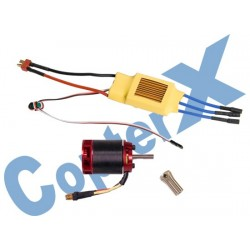 CX500-10-00 - 500L 1600Kv Brushless Motor with Pinion Gear & 70A ESC with BEC