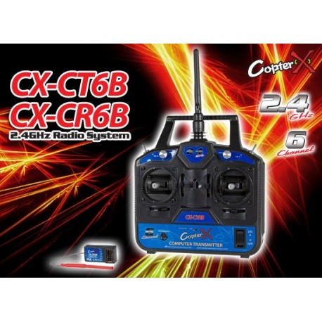 CX-CT6B - Transmitter with CX-CR6B receiver