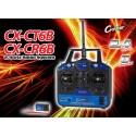 CX-CT6B - 2.4Ghz Transmetteur avec récepteur CX-CR6B + cable programmation