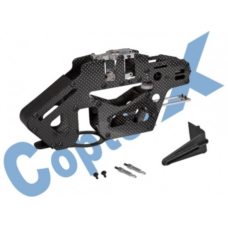 CX450PRO-03-01B - Carbon Fiber & Metal Main Frame Set