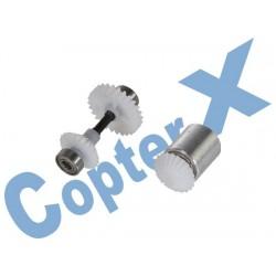 CX450PRO-03-14T - Tail Drive Gear Set (Boom Lock)