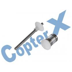 CX450PRO-05-06T - Tail Drive Gear Set (Tail Shaft)