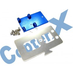 CX450-03-21 - Aluminum Battery Mounting Plate