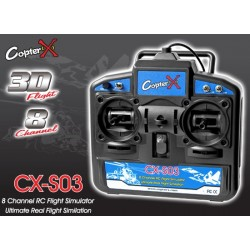 CX-S03 - 8-Channel 3D Flight USB RC Flight Simulator