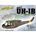 UH001 - Bell UH-1B Glass Fiber Fuselage - 600 Class