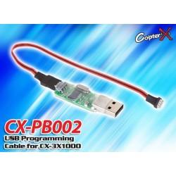 CX-PB002 - Cable USB de programmation pour 3G Flybarless CX-3X1000