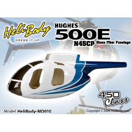 HB-MD010 - Hugues 500E N45CP - Fuselage Fibre de verre