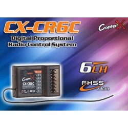 CX-CR6C - 2.4GHz FHSS 6CH Receiver