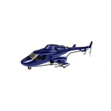 HB-WF001 - Airwolf 500 - Train d'atterrisage rétractable - Fuselage Fibre de verre