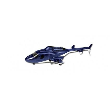 HB-AW002 - Airwolf 450 - Train rétractable - Fuselage fibre