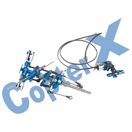 CX250-01-30 - Metal Main Rotor Head Set & Metal Tail Rotor Set