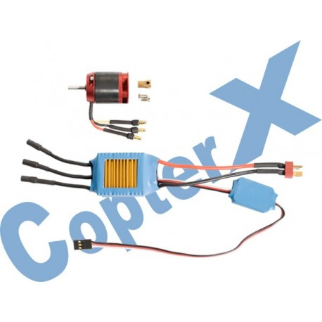 CX450-10-06 - 430XL Brushless Motor (3550KV) & 50A Brushless ESC with BEC