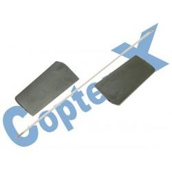 CX450-01-10 - Flybar Paddle Set for CopterX CX450SE V2