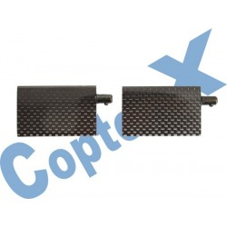 CX450-01-14 - Carbon Flybar Paddle CopterX 450 v2