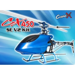CopterX CX450SE V2 Kit CARBONE ALU