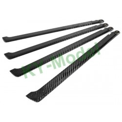 BL-425-C-4B - EP 500 Class 425mm Carbon Fiber Main Blades for 4-Blade Main Rotor